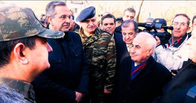 Samaras'tan iade-i ziyaret