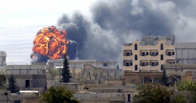 Kobani'de IŞİD'in çekilmesi an meselesi