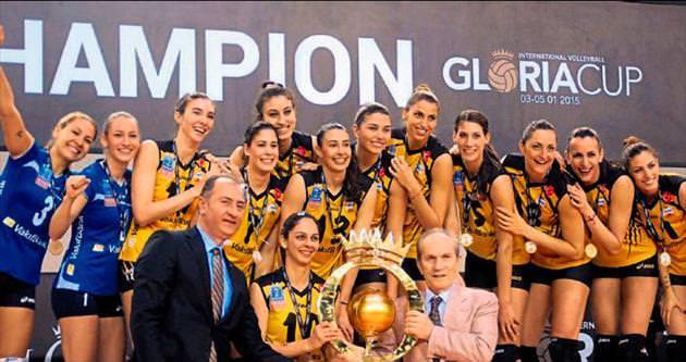 Gloria Cup'ta şampiyon Vakıfbank