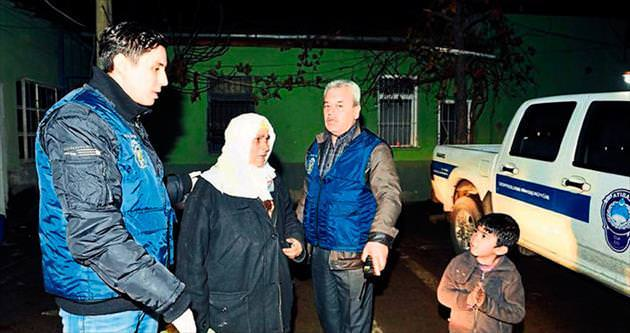 Suriyeli göçmenler kampa gönderildi