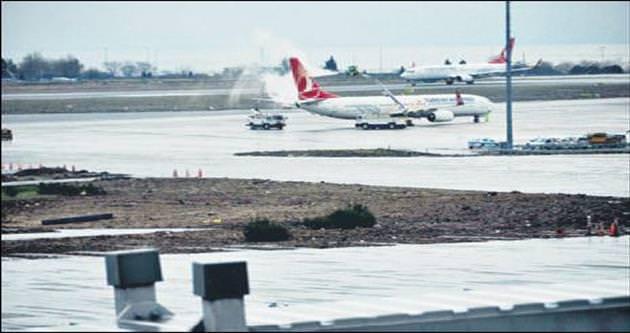 Uçaklara buz çözme