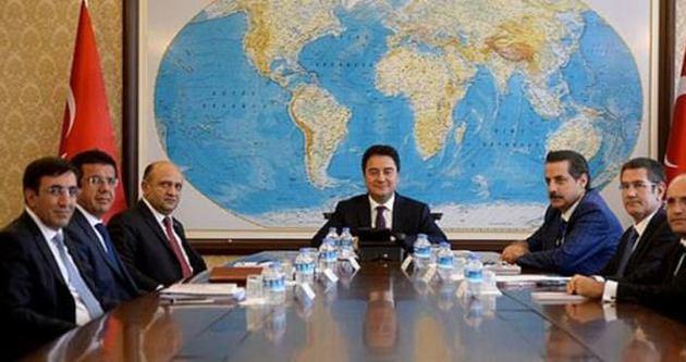 Ekonomi Koordinasyon Kurulu toplantısı Babacan başkanlığında yapıldı