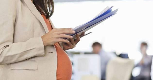 Hamile kadına iş kolaylığı geliyor
