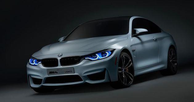 BMW M4 Concept Iconic Lights kendini gösterdi