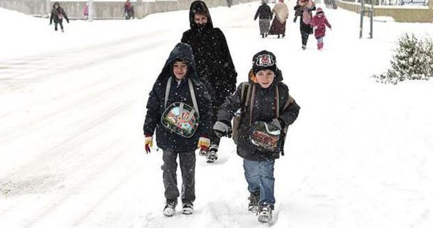 09 Ocak Cuma İstanbul'da okullar tatil mi? - İstanbul'da okullar yine tatil