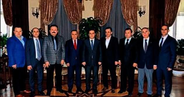 Vali Türker'in konukları STK'dan