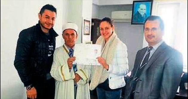 Ukraynalı İryna Müslümanlığı seçti