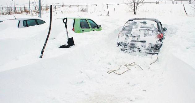 Kar Anamur'a dayandı