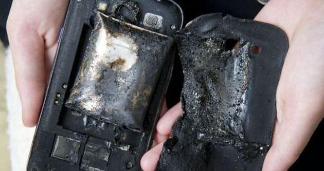 Telefonların neden patladığı ortaya çıktı