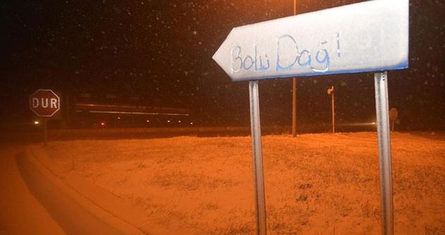 Bolu Dağı'nda kar 2 metreye ulaştı