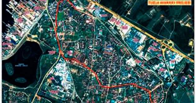 Marina Marmaray'la havadan birleşecek