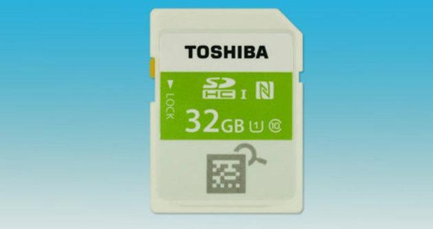 Dünyanın ilk NFC'li hafıza kartı tanıtıldı