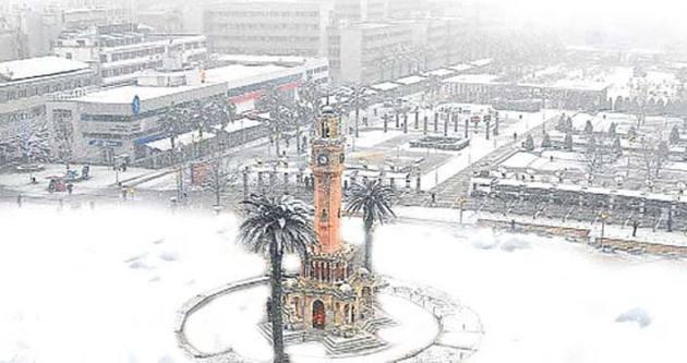 İzmir'de son 51 yılın soğuk rekoru: -7