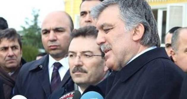 Abdullah Gül'den o karakola ziyaret