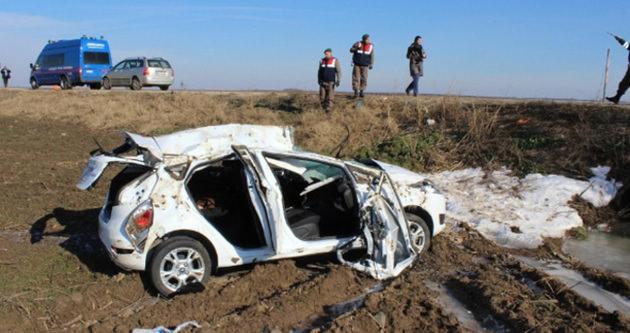 Tekirdağ'da trafik kazası: 2 ölü, 2 yaralı