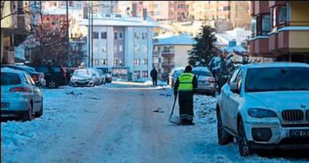 Çankaya'daki sokaklar kapalı