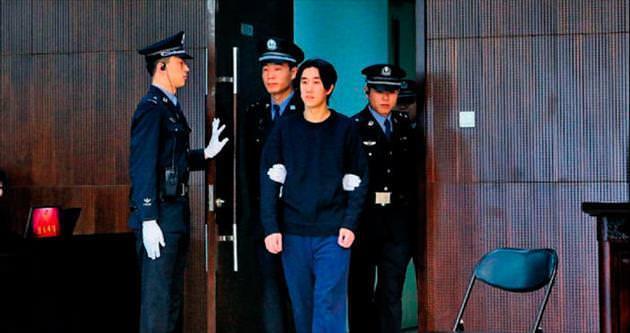 Chan'in oğluna altı ay hapis