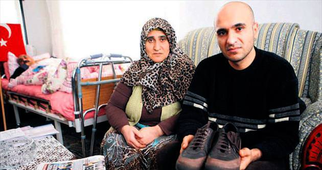 Ayakkabıdan skandal çıktı