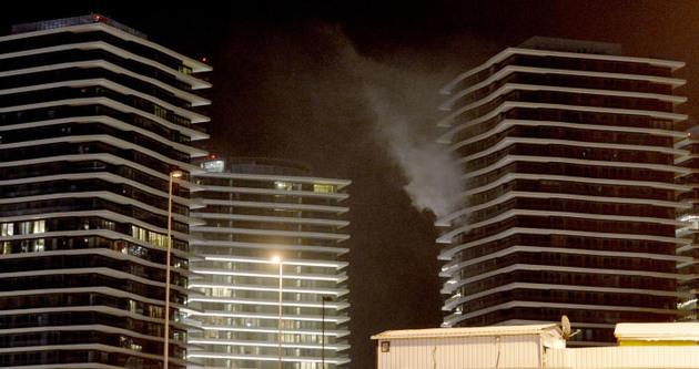 Zorlu Center'da yangın: 1 ölü