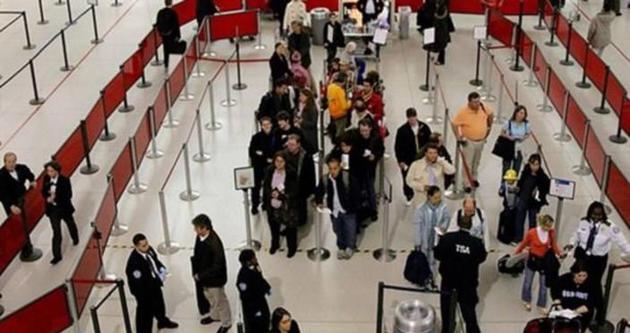 ABD Havalimanında Kuran okundu