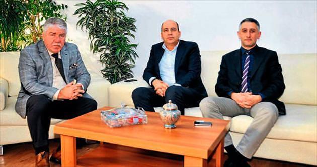 Acıbadem yönetimi gazetemizi ziyaret etti