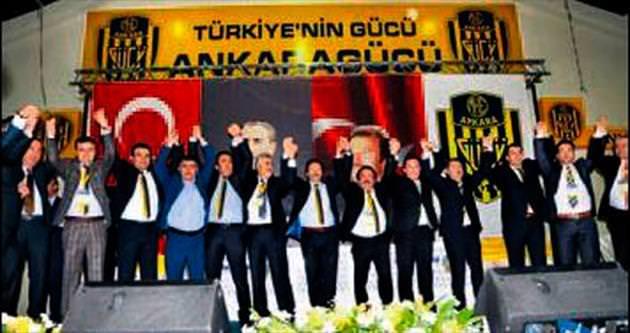 Ankaragücü'nde kongre sürprizi