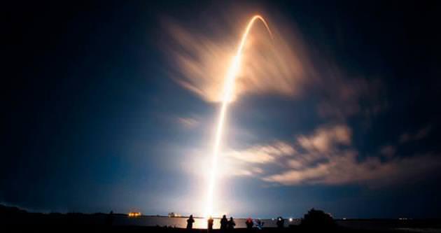Dünya'dan uzaya 'erzak' sevkıyatı