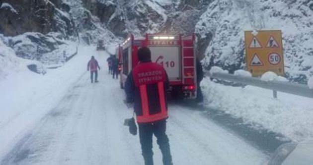 Trabzon'da 4 kişiden haber alınamıyor