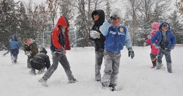 3 şehirde kar tatili