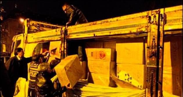 Mersin'de kaçak sigara operasyonu