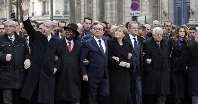 Hollande, Netanyahu'nun yürüyüşe katılmasını istememiş