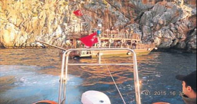Tekneyi Sahil Güvenlik kurtardı