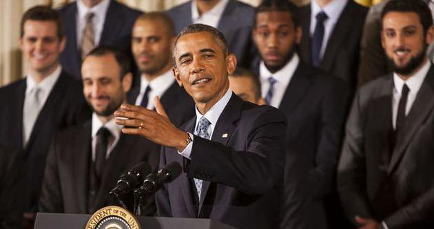 Son şampiyon, Beyaz Saray'da