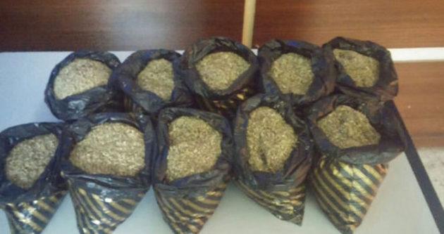 5 kilo bonzai ele geçirildi