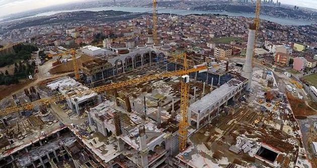 Çamlıca Camisi 2016'da açılacak