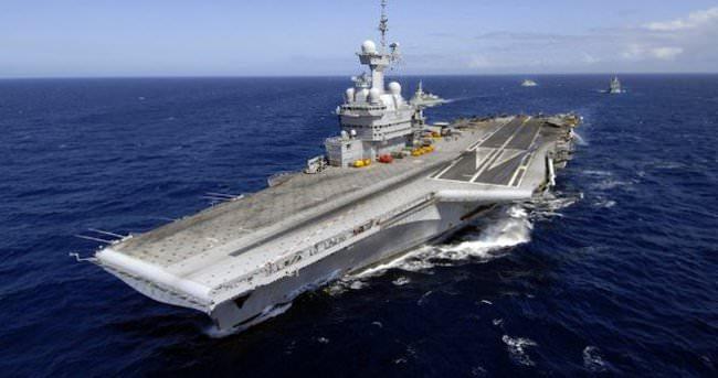 Fransa IŞİD'e karşı savaş gemisi yolluyor