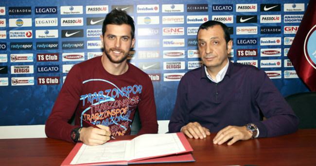 Uğur Demirok resmen Trabzonspor'da