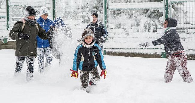 Adıyaman, Elazığ, Hakkari ve Malatya'da kar tatili