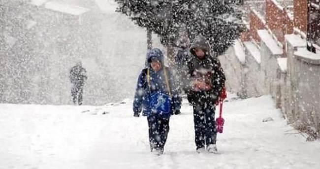 Son haber Malatya'dan geldi, okullar bugün tatil
