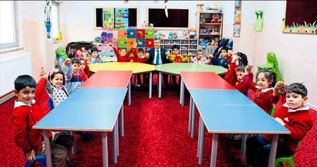 Şahinbey'de ana sınıfı eğitimleri