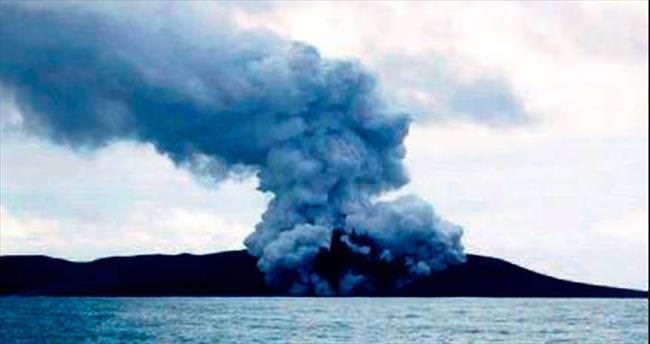 Yanardağ, Tonga'ya bir ada hediye etti