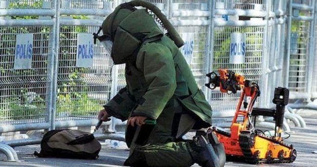 Polis karakolunda bomba paniği