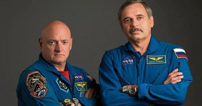 ABD'li astronot ile Rus kozmonot 1 yıl uzayda yaşayacak