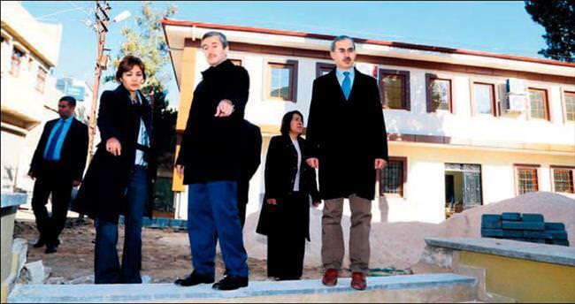 Ebubekir Sıddık Camii'nde sosyal tesis de tamamlandı