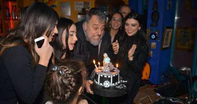 Hamdi Alkan'a doğum günü sürprizi