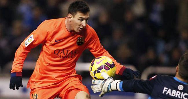Messi'den 30. hat-trick