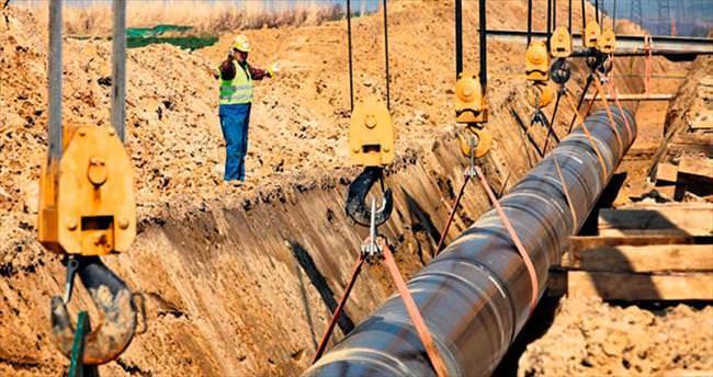 Irak'la yeni gaz hattı