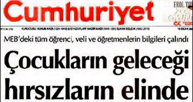 'Haberler masabaşı gazetecilik ürünü'
