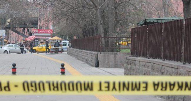 Ankara Atatürk Bulvarı'nda bomba paniği