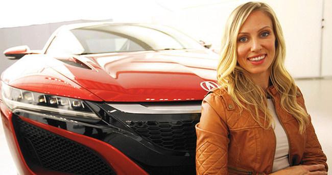 Bu lüks otomobili bir kadın tasarladı